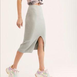 FP Skyline Midi Skirt NEW